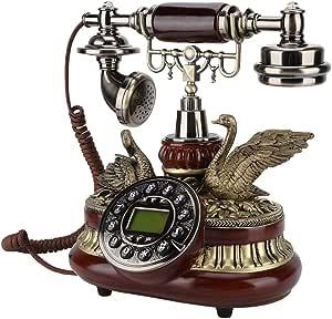 Vbestlife Retro Telefon Europäische Antikes Telefon Elektronik