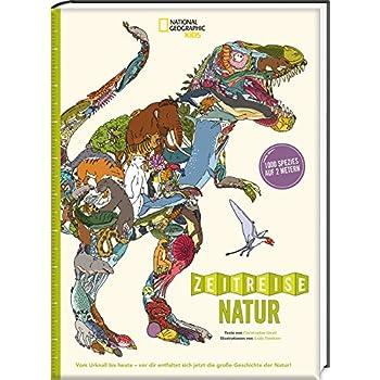 Zeitreise Natur. 1000 Spezies auf 2 Metern - ein Leporellobuch