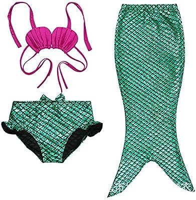 Highdas New Kids bebšŠs Poco Traje de la sirena del bikini del traje de