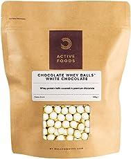 BULK POWDERS Schoko-Protein-Kugeln Weiße Schokolade, 500 g