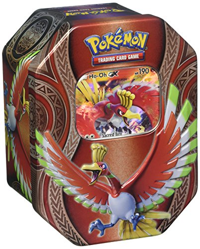 Pokemon Tcg: Ho-Oh Gx Mysterious Powers Tin (Dragon Ball-karten-box)