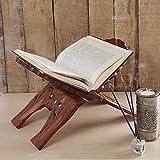 Danksagungsgeschenke Für deine Geliebten Buchständer , Inlay Schnitzen Buchständer, Vintage-Buch-Standplatz , Skulptur, Skulptur Buch Stand