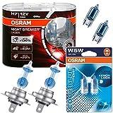 Osram Night Breaker Laser, H7 12Volt 55Watt + W5W...