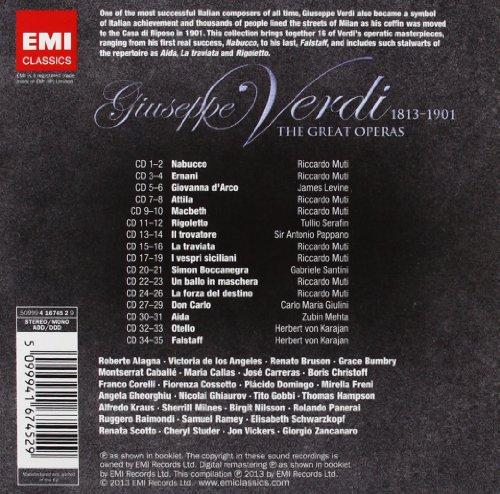 Verdi : The Great Operas (35 CD)