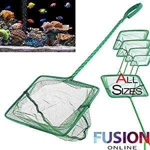 Genuine Aquarium Fish Tank All Sizes Fish Net Green Tropical Coldwater Pond New Fusion (tm)