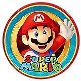 Tortenaufleger Tortenfoto Aufleger Foto Super Mario Bros (34) rund ca. 20 cm *NEU*OVP*