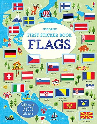 First Sticker Book Flags (First Sticker Books)