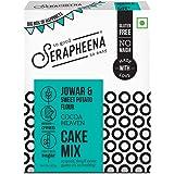 Serapheena Chocolate Cake Mix, 400g Big Box of Happiness |Gluten Free, Vegan, Eggless|
