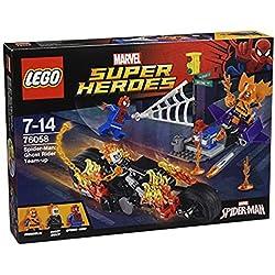 LEGO - Spider-Man, alianza con el Motorista Fantasma