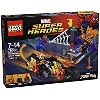 LEGO 76057 Super Heroes Spider-Man Web Warriors Ultimate Bridge Construction Set