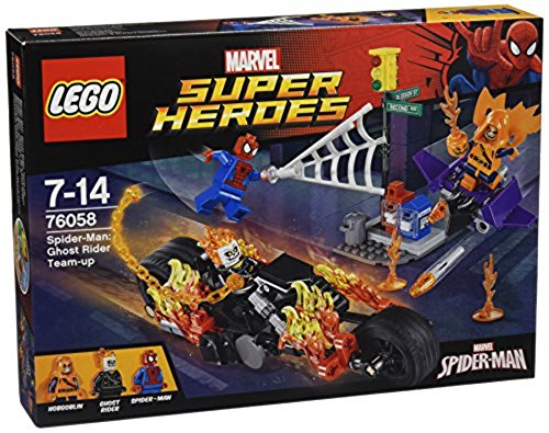 LEGO Marvel Super Heroes 76058 - Spider-Man: Ghost Riders Verbündete, Spiderman Spielzeug (Ghost Lego Minifigur)