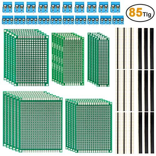 Pin-Länge 10,5mm 10 x Buchsenleiste 6 Pin einreihig gerade 2,54mm
