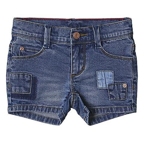 ESPRIT Mädchen Shorts RJ26043 Blau (Medium Wash Denim 463), 122