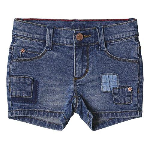 ESPRIT Mädchen Shorts RJ26043 Blau (Medium Wash Denim 463), 128