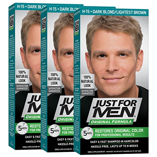 Just For Men Shampoo In Hair Color Kit, Dark Blonde, #4939 - 1 Ea ( Pack of 3 )