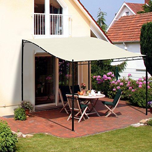 outsunny-pergola-tonnelle-de-jardin-auvent-297-x-297m-adossable-polyester-impermeable-anti-uv-metal-