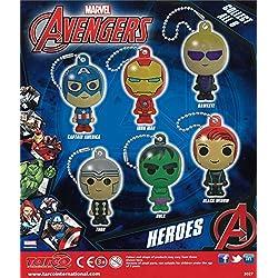 MVS AL POR MAYOR 10 x Marvel Avengers Héroe Figuras - Paquete de diez - Relleno de bolsa de fiesta impresionante o relleno de juguete o rellenos de carga