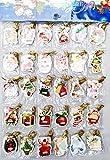 Schilder Kärtchen zum beschriften Weihnachts Geschenkpapier Geschenk Kärtchen Karten Tags Geschenkverpackung Karten klein Weihnachten Kinder Karten für Geschenke 216 Stück in 36 designs