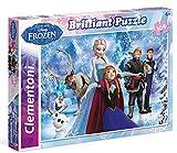 Clementoni 20127.3 - 104 T Brilliant Frozen, Klassische Puzzle