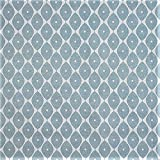 LINEN702 - Mantel de Vinilo de PVC (2 m, 200 x 137 cm), Color Azul para Adaptarse a una Mesa Rectangular de hasta 6 Plazas, se Limpia con un Paño, Tela de plástico con Respaldo (283)