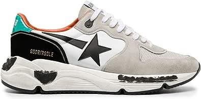 Golden Goose Luxury Fashion Uomo GMF00126F00064280523 Bianco Cotone Sneakers | Autunno-Inverno 20
