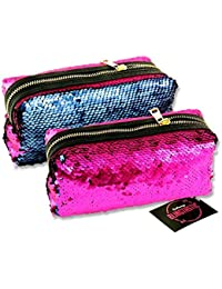 Premier Stationery G3818311 Emotionery Blingtastic - Estuche reversible de lentejuelas en dos tonos, color fucsia