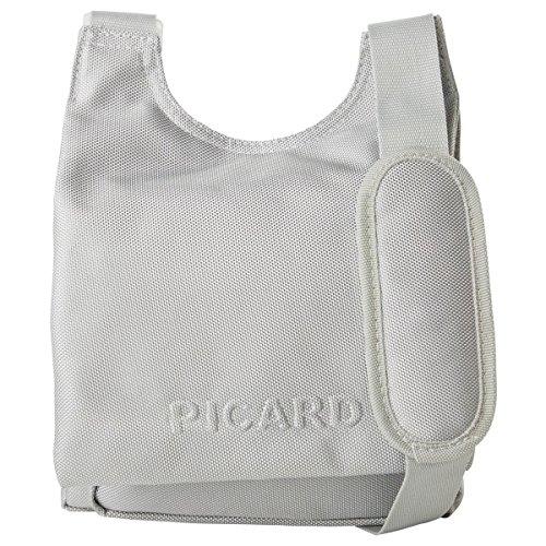 Picard Damen Hitec Umhängetaschen, 24x29x5 cm Silber (Silber)