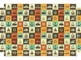 YOURDEA - Sticker für Kinderzimmer Möbel für IKEA Lack Tische Couchtisch mit Motiv: Maritim inklusive Rakel