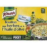 Knorr Bouillon Déshydraté Aux Herbes Et À L'huile D'olive Puget Pour Pâtes Et Riz - ( Prix Par Unité ) - Envoi...