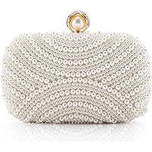 Luxus Abendtasche Handtasche Perlen Kristall Tasche Schultertasche Brauttasche Damentaschen Braut-accessoires