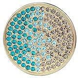 Monedas Morella para mujeres 33 mm verde-azul-plata
