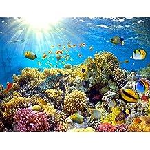 Fototapeten Aquarium  Cm Vlies Wand Tapete Wohnzimmer Schlafzimmer Buro Flur Dekoration Wandbilder Xxl