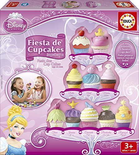 Educa Juegos - Disney Fiesta de Cup Cakes, juego de mesa (16142)