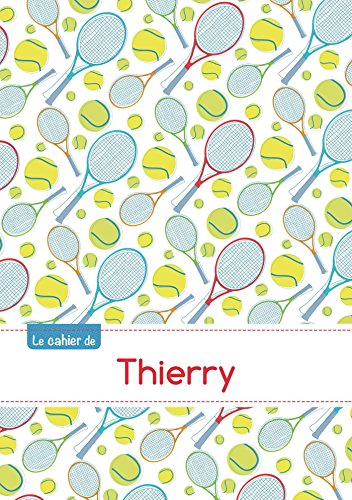 CAHIER THIERRY SEYES,96P,A5 TENNIS