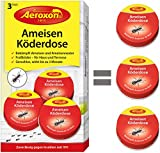 Aeroxon - Ameisenköder - 3 Dosen - bekämpft das ganze Ameisennest