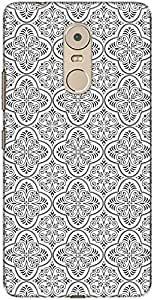 The Racoon Lean printed designer hard back mobile phone case cover for Lenovo K6 Note. (Rococo)