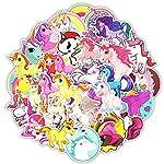 61HNk5wofsL. SS150 TOPWINRR 30pcs Graffiti Adesivi Misto Sticker Unicorno Cartone Animato Impermeabile per Fai Computer Portatile Bambini…