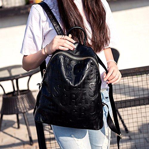 - borsa di pelle, zaino nuovo, semplice,claret black