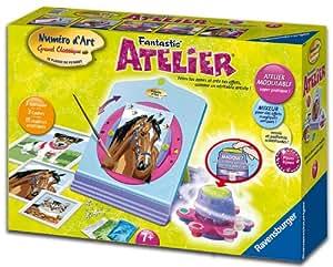 Ravensburger - 28535 - Loisir Créatif - Fantastic' Atelier Numéro d'art: Amazon.fr: Jeux et Jouets