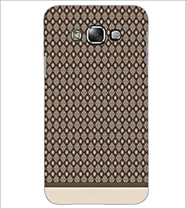 PrintDhaba Pattern D-1572 Back Case Cover for SAMSUNG GALAXY E7 (Multi-Coloured)