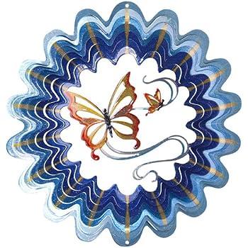 Iron Stop Windspiel Designer Windspinner, Schmetterling, 25 cm