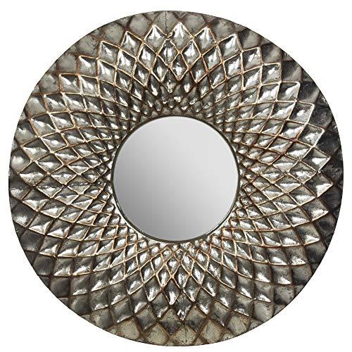 Gallery Solutions Spiegel, Metall, Silber
