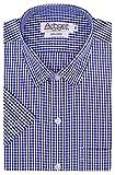 #10: Arihant Men's Checkered Half Sleeves Reguler Fit 100% Cotton Formal Shirts