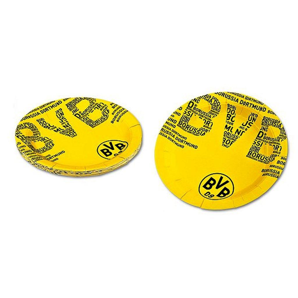 Borussia Dortmund party piatti/piatti/stoviglie monouso Set di 10 BVB 09