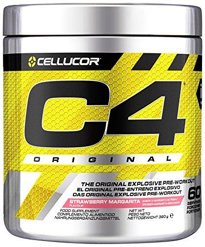 Cellucor C4 Original, Sabor Strawberry Margarita - 390 gr