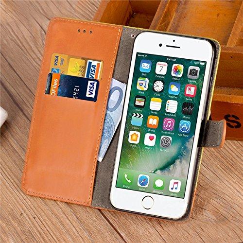 custodia iphone 7 portafoglio