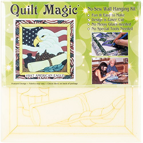 American Eagle Quilt Magic Kit-12