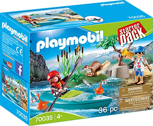 Playmobil 70035 Starter Pack StarterPack Kanu-Training, bunt (Spielzeug Kanu)