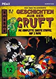 DVD Cover 'Geschichten aus der Gruft, Staffel 2 (Tales from the Cryptkeeper) / Weitere 13 Folgen der Grusel-Zeichentrickserie (Pidax Animation) [2 DVDs]