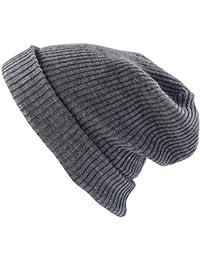 PEARL urban XXL-Strick-Mütze Long Beanie hellgrün